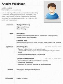 career resume template sle resume for a sle resumes