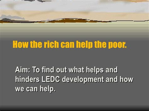 How To Find Rich How The Rich Can Help The Poor