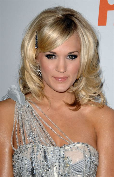 carrie underwood new hair color carrie underwood hairstyle taaz hairstyles