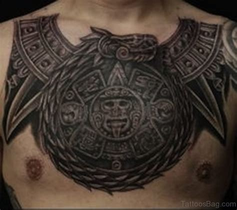 aztec chest tattoos 50 traditional aztec tattoos for chest