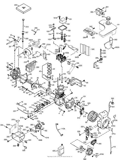 tecumseh ohsk  parts diagram  engine parts list