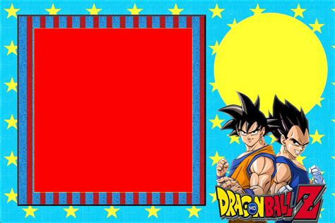 dragon ball z printable birthday cards dragon ball z free printable invitations is it for