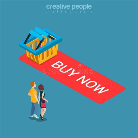 order now buying on web stock illustration 88098922 buy now add to cart button shopping flat isometric vector 3d stock vector illustration of