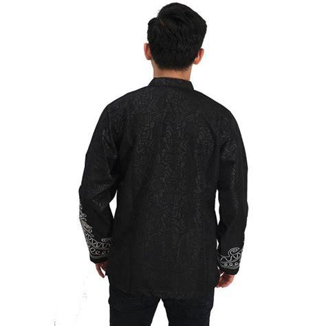 Kaos Baju Black Panther baju koko black panther black baju muslim pria