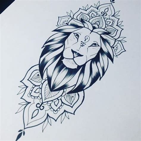 lion mandala tattoo 17 best ideas about mandala on