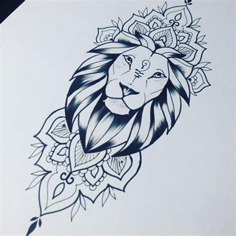 17 best id 233 es 224 propos de mandala lion sur pinterest l