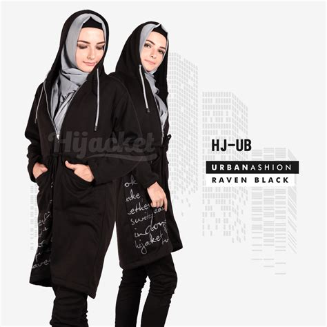 Jaket Hijaber Hijacket Japan Hj Js 1 Abu Tua Maroon Original 3 hj ub black