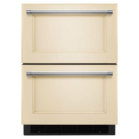 kitchenaid drawer 4 7 cu ft bottom freezer