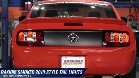 2003 mustang gt tail lights mustang raxiom 2010 style tail lights 05 09 all review