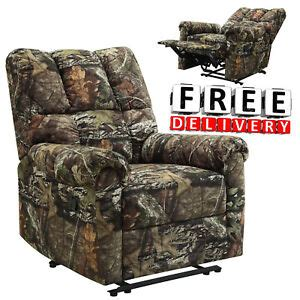 Camo Reclining Sofa by Recliner Camo Chair Kick Out Armrest Lounge Lazy Boy Sofa
