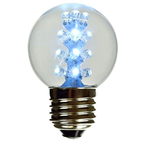 White Light Led Bulb Cool White G50 Led Globe Light Bulb