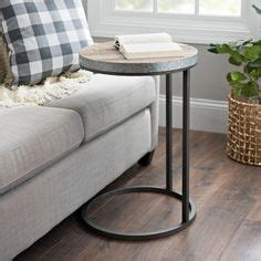 natural wood plank  galvanized metal  table