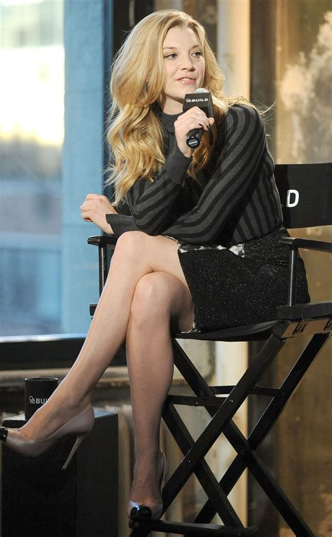 natalie dormer legs natalie dormer aol s build speaker series at aol studios