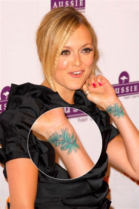 fearne cotton wrist tattoo fearne cotton tattoos tattooed