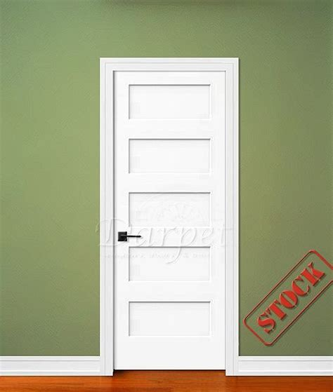 5 Panel Flat Shaker Style Primed 6 8 Quot 80 Quot Darpet 5 Panel Shaker Interior Door