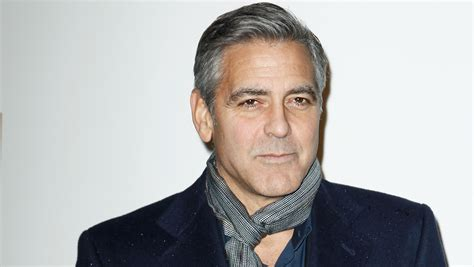 George Clooney Slams by George Clooney Slams Newspaper Future In