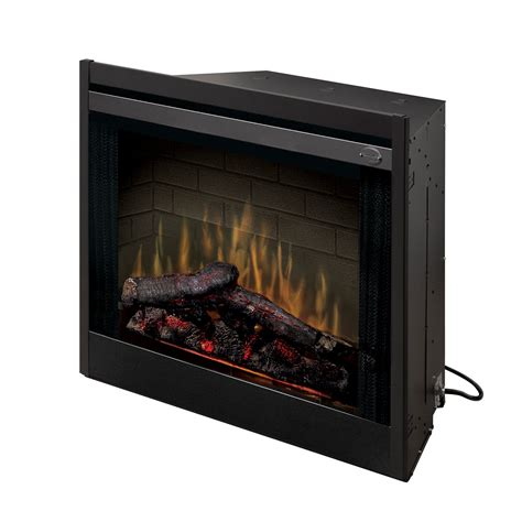 dimplex 33 in built in electric fireplace insert