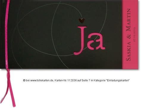 Hochzeitseinladungen Schlicht Modern by Pink Einladungskarten