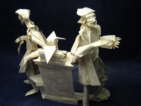 Who Created Origami - 40 awesome works of made from paper noupe