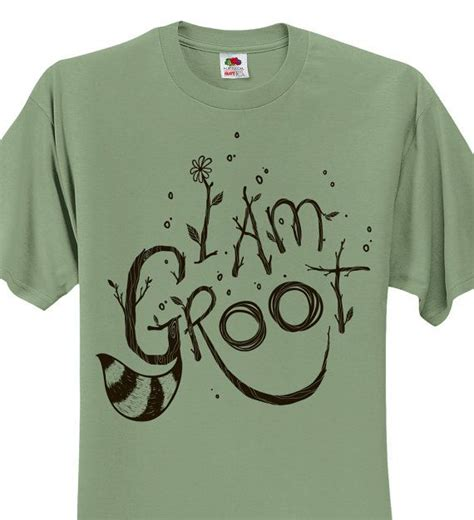guardians of the galaxy t shirt sagestone i am groot t