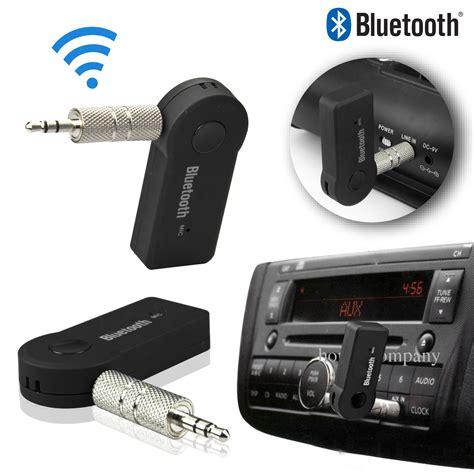 Car Audio Bluetooth Receiver Bt510 3 5mm wireless bluetooth 3 0 stereo car home audio receiver adapter a2dp ebay