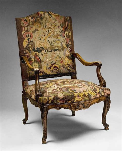 French Provincial Armchair French 19th C Louis Xv French Provincial Armchair With