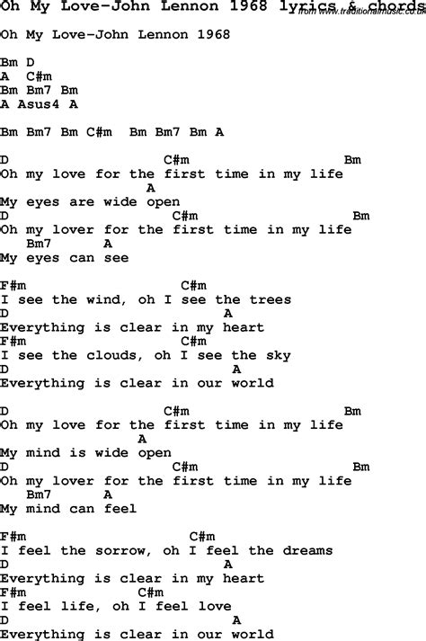 my lyrics lennon chords god by lennon guitar chords
