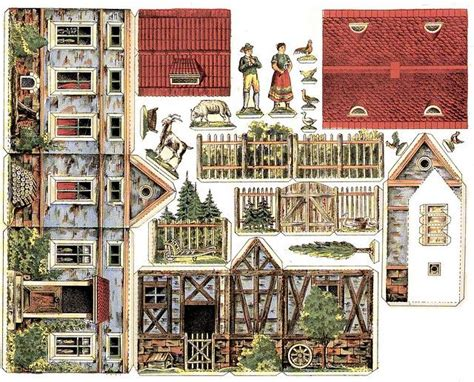 1000 Images About Papercraft Houses - 1000 images about papercraft on paper houses