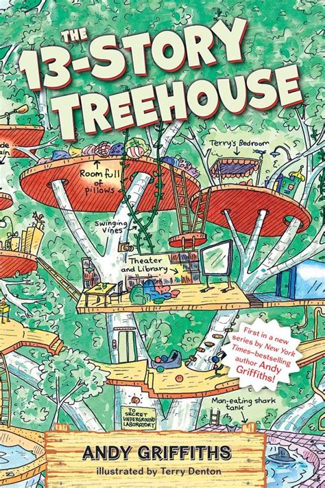 terry treetop and abigail collection books junior library guild the 13 story treehouse by andy