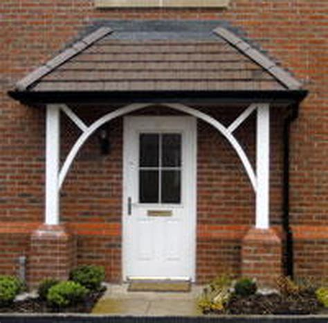 front door awning ideas awning ideas front canopy builder bricklaying job in romford essex exterior