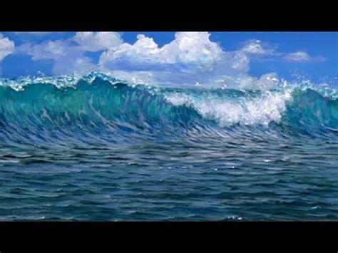 paint  beach wave acrylics youtube