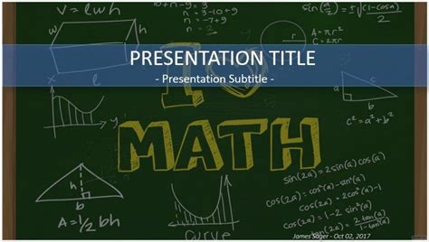 Free I Love Math Powerpoint 30057 Sagefox Powerpoint Powerpoint Math Templates