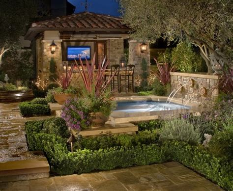 Tuscan Backyard Landscaping Ideas Tuscan Landscape Design Landscaping Network