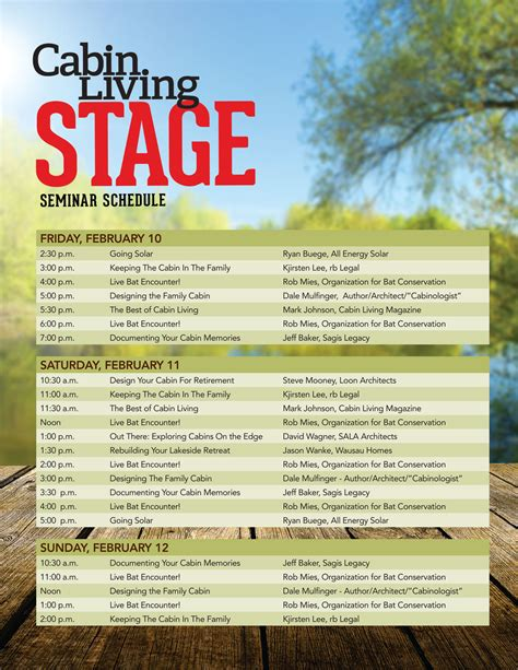 Chicago Features Lake Home Cabin Show Official Site | minneapolis seminars lake home cabin show official site