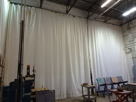 dust control curtains lot dust control curtains 4 sections 230 quot x 21