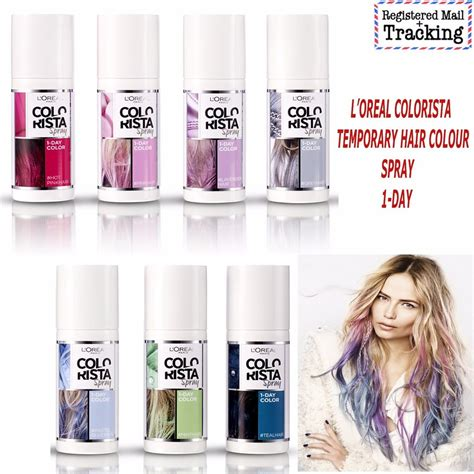 L Oreal Colorista loreal colorista temporary hair colour spray 1 day