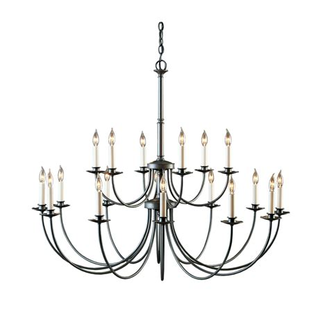 Simple Lines 15 Arm Chandelier Hubbardton Forge Easy Chandelier