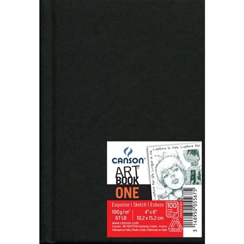 Canson 4 Quot X 6 Quot Artbook One Hardbound Sketchbook