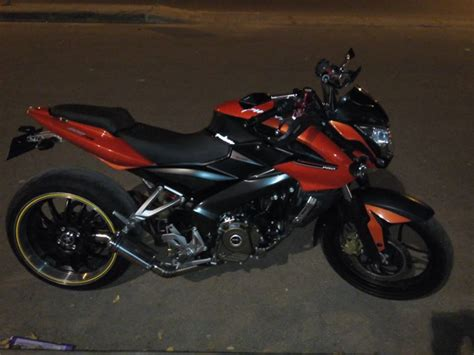 bmw s1000rr indonesia modified bajaj pulsar 200 ns with a bmw s1000rr s rear