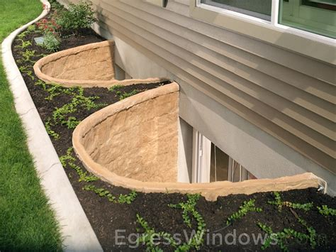 basement window well liners egress window well liners basement gallery