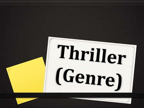 rekomendasi film genre thriller thriller genre