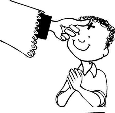 imagenes catolicas miercoles de ceniza miercoles de ceniza para pintar y colorear dibujo de un