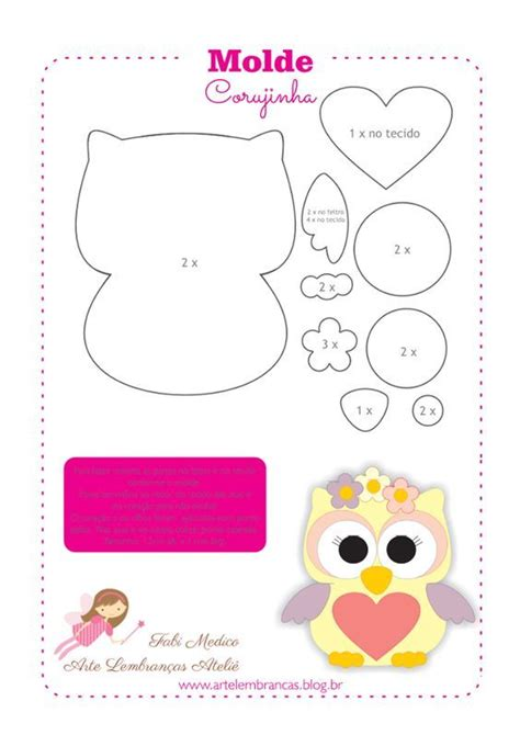 imagenes manualidades navideñas para niños buhos de tela con moldes gratis para imprimir cumplea 241 os