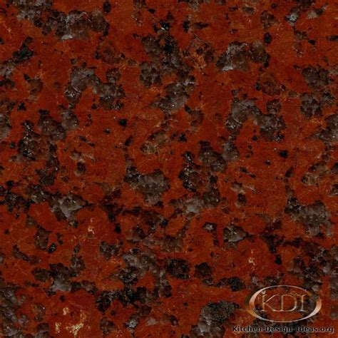 Orange Kitchen Design by Granite Countertop Colors Red Granite