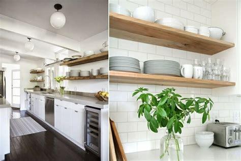 mensole cucina id 233 e cuisine ouverte pour un espace lumineux