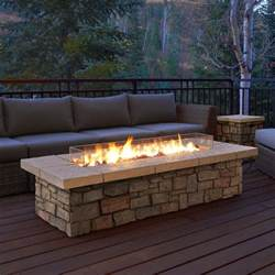 Patio Furniture With Propane Fire Pit Table - real flame sedona propane fire pit table amp reviews wayfair