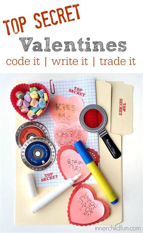 secret valentines top secret writing center inner child