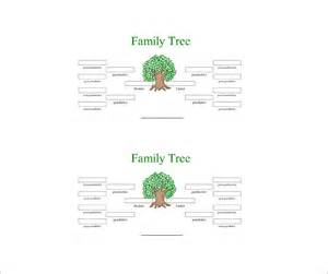 10 generation family tree template four generation family tree template 10 free word