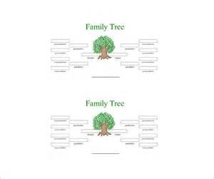 4 generation family tree template free 4 generation family tree template 12 free sle