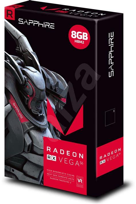 Sapphire Rx 56 8gb Hbm2 sapphire radeon rx 56 8g hbm2 grafick 225 karta alza cz
